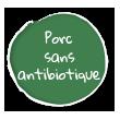Label Porc Sans Antibiotique